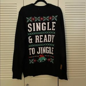 Tipsy Elves Single and Ready to Jingle Sweater